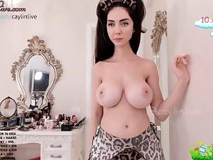 I'd like alongside cum over her huge boobs!