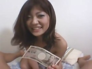 A Cute Asian Model fucks be required of seat of government