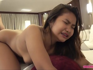 Innocent THAI Teenage in Action - position