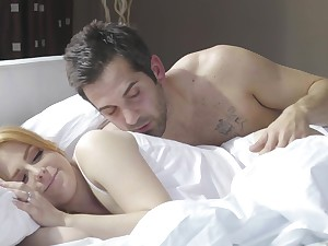 Scrupulous morning fucking with a messy facial for angelic Penny Pax